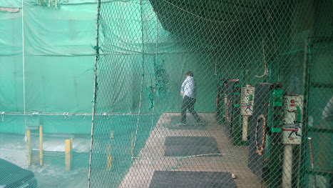 Batting cage in Sinchon