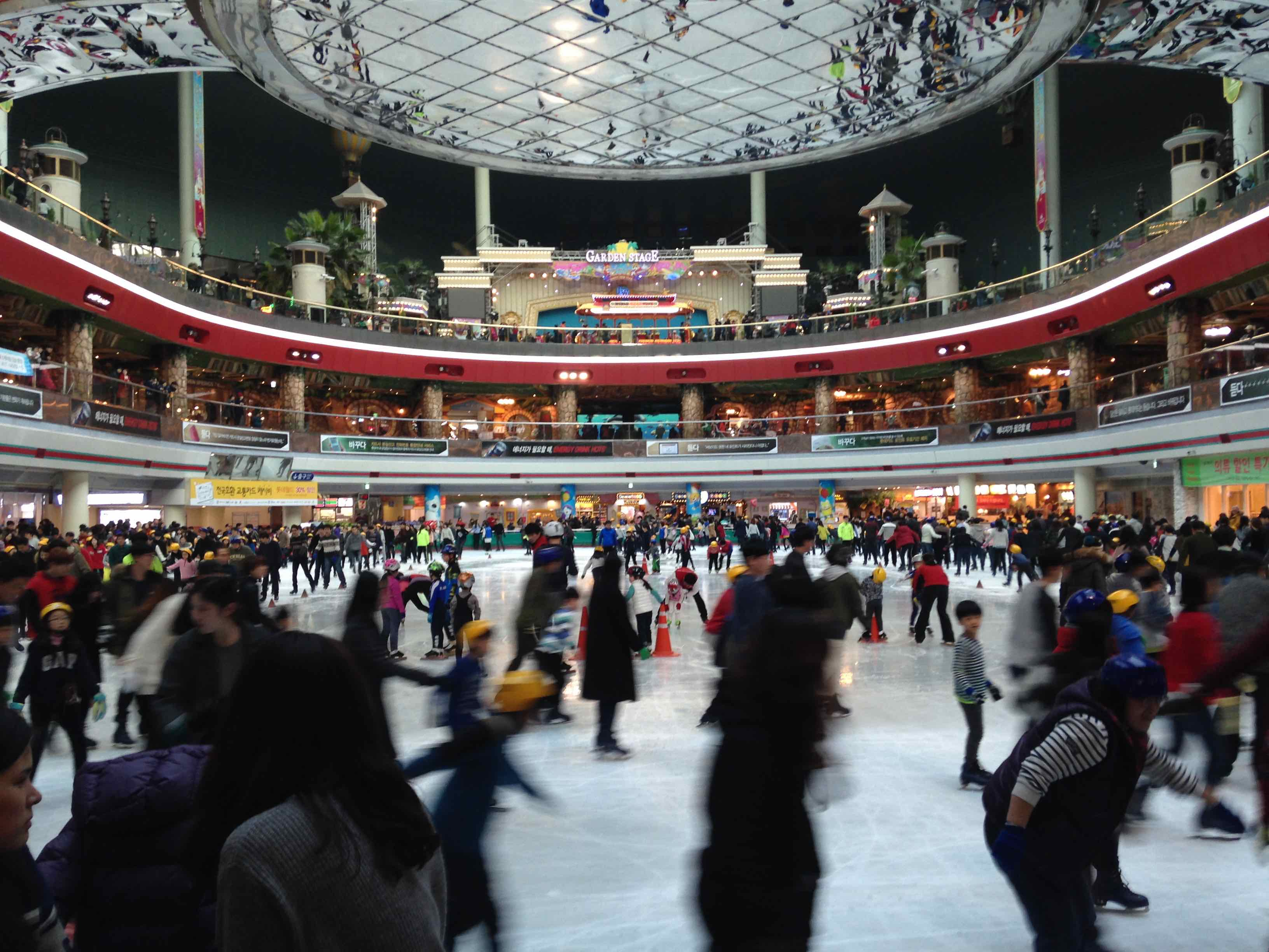 Lotte World ice rink